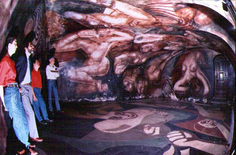 Sauna revista de arte for El mural de siqueiros en argentina